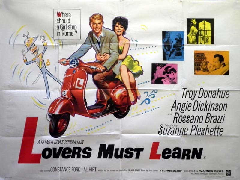 Rome Adventure (1962) - The Movie Soundtrack