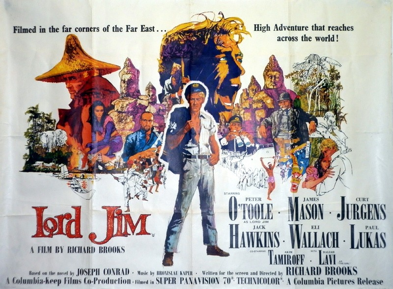 Image result for lord jim movie poster
