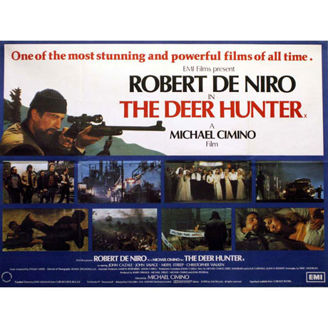 an analysis of vietnam in the deer hunter In the deer hunter, the enemies in vietnam are ugly, sadistic torturers, while the american vietnam are noble the saigonese are greedy gamblers willing to bet on an american's blowing his brains out--they show no concern over the imminent collapse of their city.
