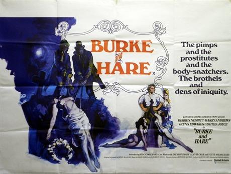 Burke and Hare Poster, UK Quad, 1972, Putzu